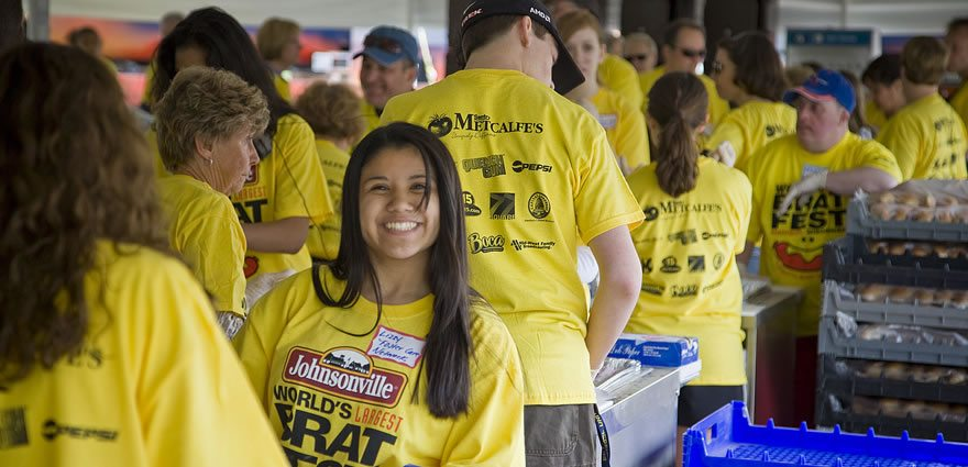 Bratfest Volunteers