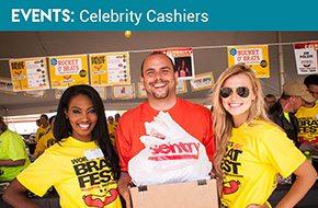 Brat Fest Celebrity Cashiers